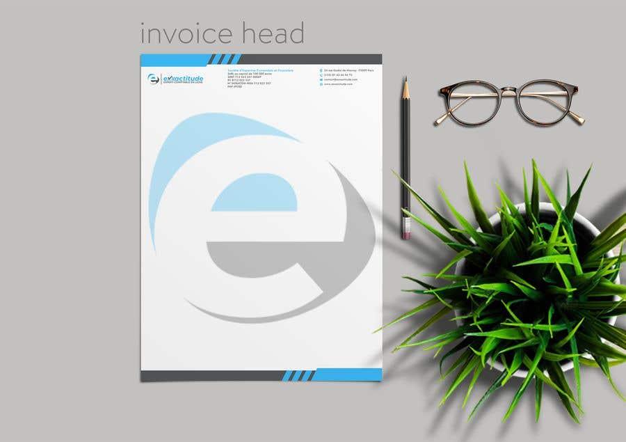 Bài tham dự cuộc thi #96 cho invoice head