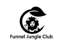 nº 5 pour Funnel Jungle Club logo. These are just ideas but I'm open to others, Maybe you can add a salesfunnel symbol or my lion (must be the same if you it, this lion is part of my product) or simply nothing. par selimreza9205