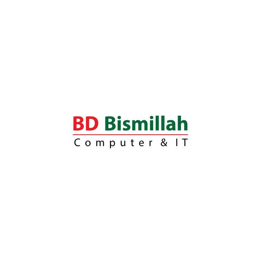 Inscrição nº 109 do Concurso para BD Bismillah Computer & IT