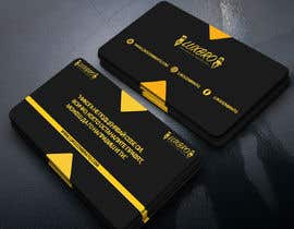 #48 for Luxury Black and Gold Business Card Design for Jewelry website af drubadeb55