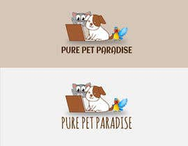 #91 for A logo for Pure Pet Paradise - an online pet retail store by rliton