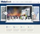 Website Design for MobeSeek - mobile strategy agency için Graphic Design37 No.lu Yarışma Girdisi