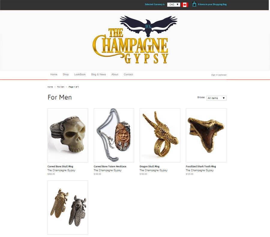 "Penyertaan Peraduan #                                        79                                      untuk                                         Design a Logo for Handmade ""Boho"" Boutique Jewellery"