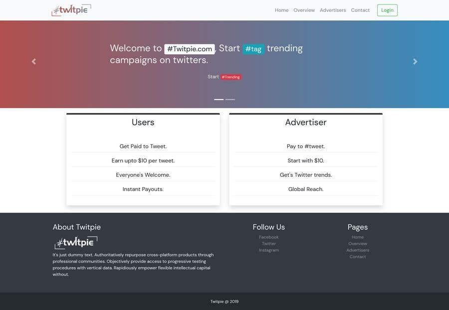 Конкурсная заявка №11 для Make a Website Design for me