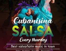 Nro 32 kilpailuun Design flyer/poster for salsa events käyttäjältä galee600