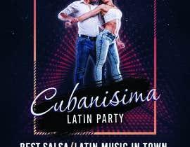 Nro 9 kilpailuun Design flyer/poster for salsa events käyttäjältä vixorezo