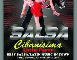 Nro 57 kilpailuun Design flyer/poster for salsa events käyttäjältä udaradasun