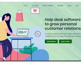 Nro 42 kilpailuun Homepage of a website käyttäjältä ElementorBoss