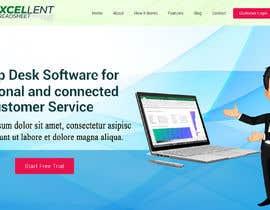 Nro 35 kilpailuun Homepage of a website käyttäjältä FreelancerRiaz74