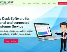 Nro 38 kilpailuun Homepage of a website käyttäjältä FreelancerRiaz74