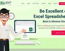 Nro 34 kilpailuun Homepage of a website käyttäjältä AffordableWeb101