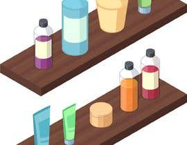 #20 cho Isometric hotel amenities elements for room and home reservation website bởi nabahatshakil94