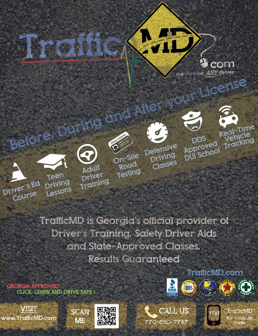 #14 for Advertisement Design for TrafficMD.com Magazine Ad - Full Page Color by krizdeocampo0913