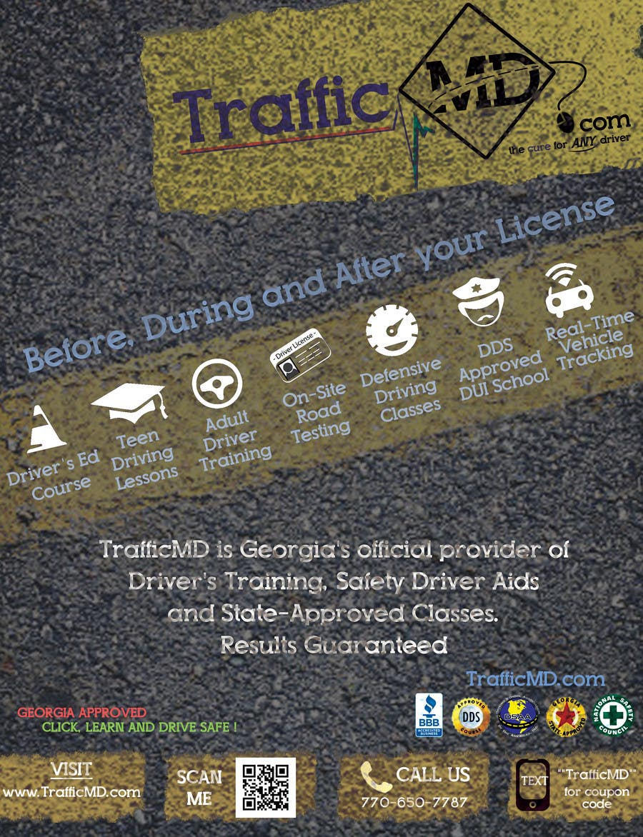 #15 for Advertisement Design for TrafficMD.com Magazine Ad - Full Page Color by krizdeocampo0913