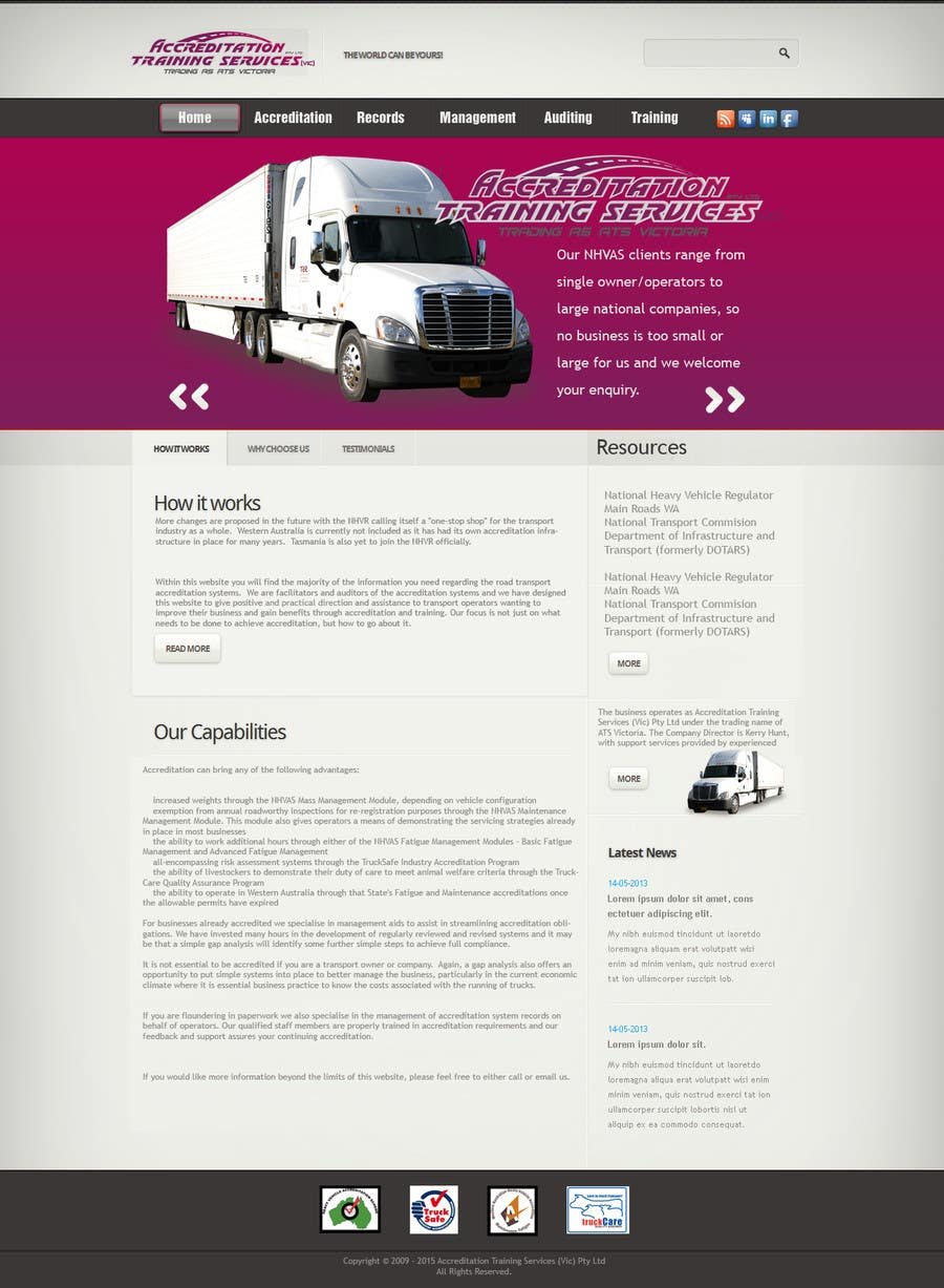 entry 11 by miloscubic for create a joomla template for ats
