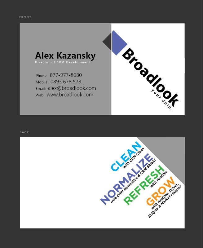 Inscrição nº 9 do Concurso para Business Card Design for a Technology Company