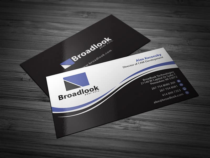 #21 for Business Card Design for a Technology Company by Brandwar