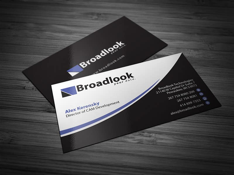 #22 for Business Card Design for a Technology Company by Brandwar