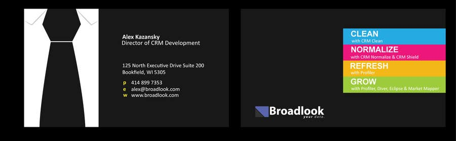 #34 for Business Card Design for a Technology Company by emzampunan