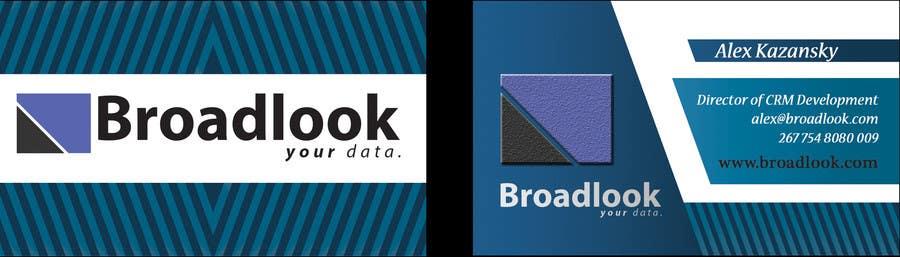 Inscrição nº 7 do Concurso para Business Card Design for a Technology Company