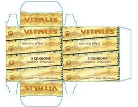 #10 for Print & Packaging Design for condom boxes af mthanhtam