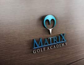 #73 para Matrix Golf Academy logo design por EdesignMK