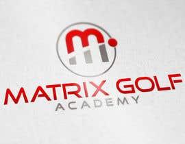 #150 para Matrix Golf Academy logo design por ZahidAkash009