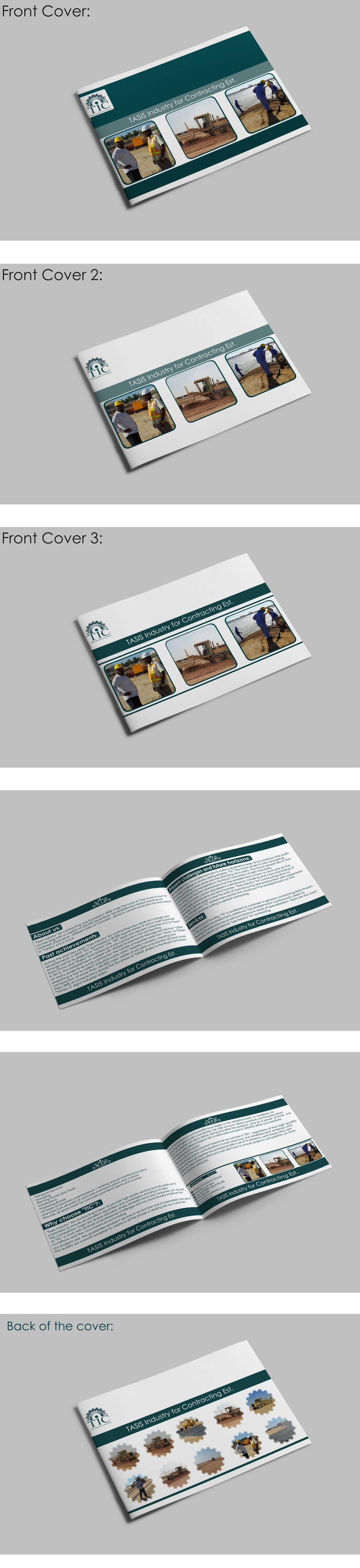 Konkurrenceindlæg #                                        5                                      for                                         Company Profile Design for Contracting Company
