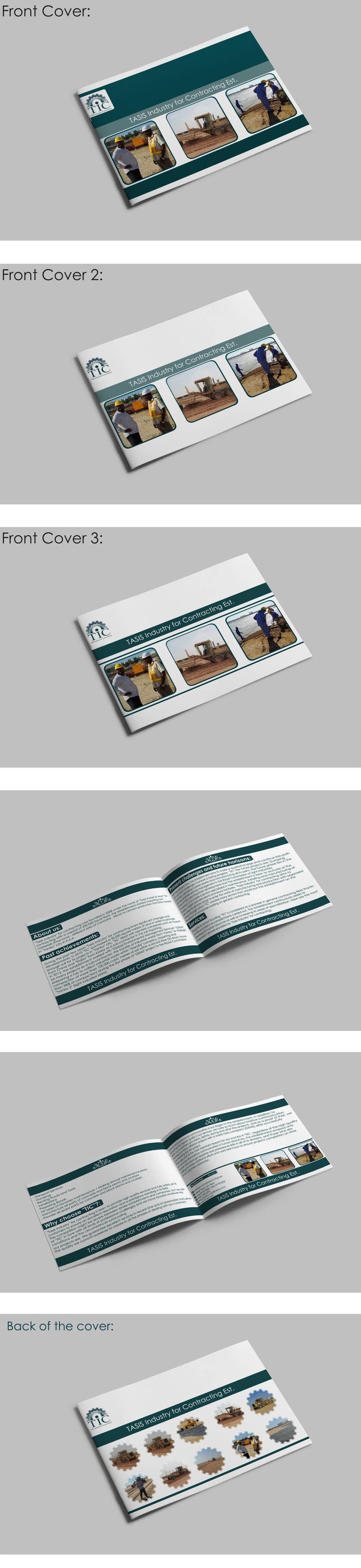 Bài tham dự cuộc thi #                                        5                                      cho                                         Company Profile Design for Contracting Company