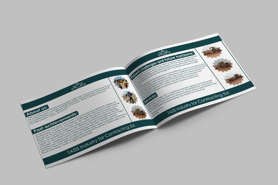Penyertaan Peraduan #                                        22                                      untuk                                         Company Profile Design for Contracting Company