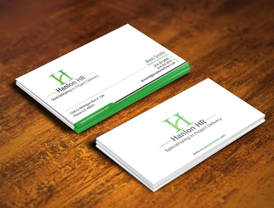 Entry #38 by gohardecent for Design a logo, business card design and ...