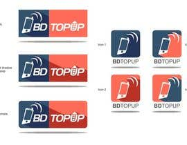 #34 para Design a Logo for BD TopUp por sharpminds40