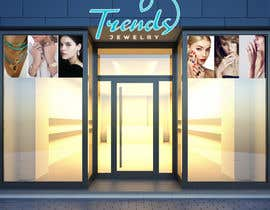 #51 for Fashion jewelry store design concept by ginagraphics