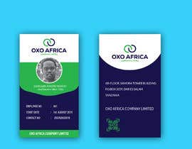 #16 for CREATE EMPLOYEE IDENTIFICATION CARD DESIGN FOR OXO COMPANY LIMITED by HRhabib68