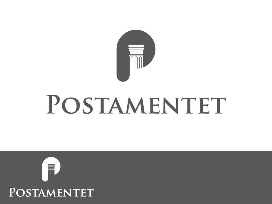 Inscrição nº                                         72                                      do Concurso para                                         Logo Design for Postamentet