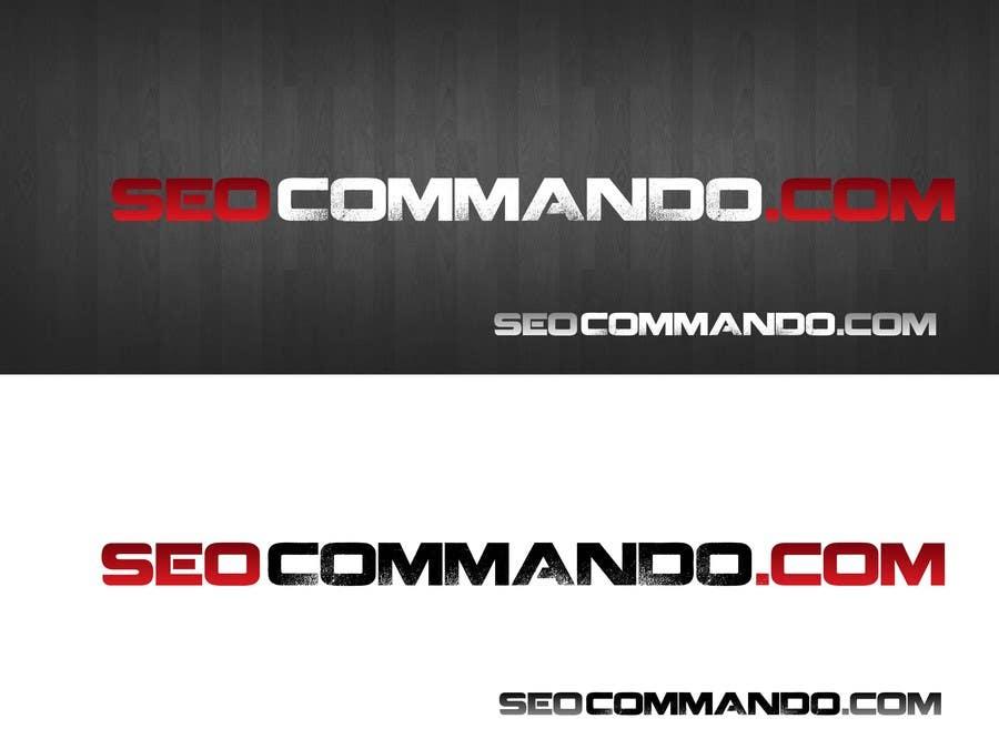 Kilpailutyö #37 kilpailussa Logo Design for SEOCOMMANDO.COM