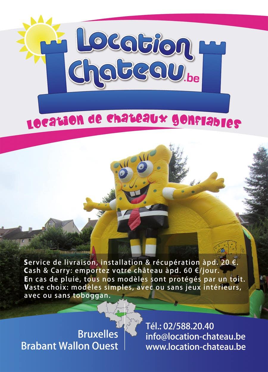 Bài tham dự cuộc thi #                                        25                                      cho                                         Flyer Design for Inflatable castle rental
