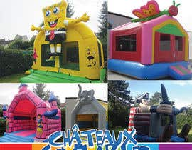 #7 untuk Flyer Design for Inflatable castle rental oleh MJBenitez