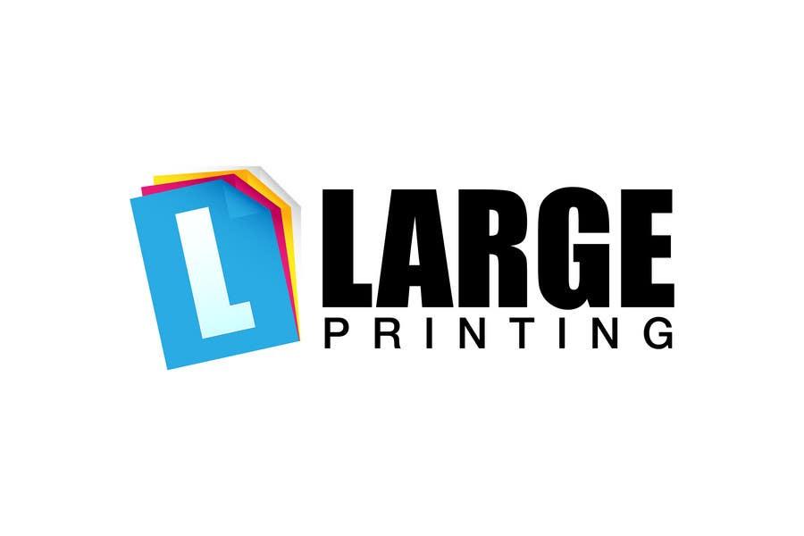 Конкурсная заявка №129 для Logo Design for Digital Design, LLC / www.largeprinting.com