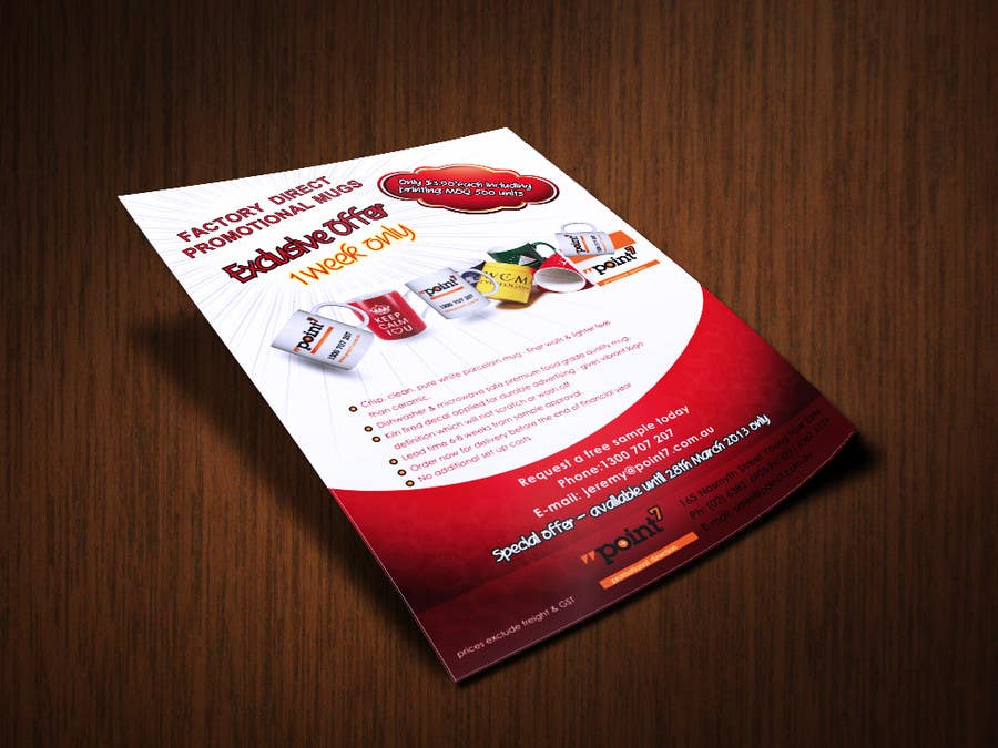 Bài tham dự cuộc thi #                                        24                                      cho                                         Flyer Design for Promotional products