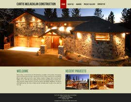 #14 untuk Website Redesign for Upscale Building Contractor oleh nelsonc99