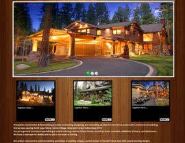 #9 para Website Redesign for Upscale Building Contractor por chelz05