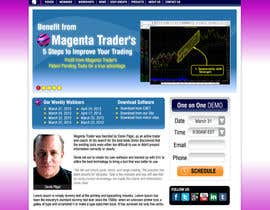 nº 2 pour Website Design for Magenta Trader par gl3nnx