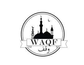 #23 para Design an Arabic Text Logo for  WAQF por nidaafreen