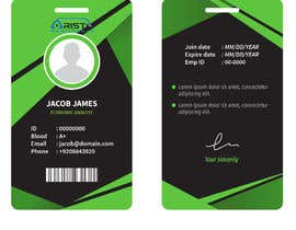 #15 cho Design ID badge for employee, front and Back.  Use any logo for best results. Healthcare staff company.       www.aristohealthcareservices.com bởi Mfadhil28