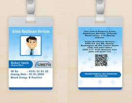 #12 cho Design ID badge for employee, front and Back.  Use any logo for best results. Healthcare staff company.       www.aristohealthcareservices.com bởi bmax07