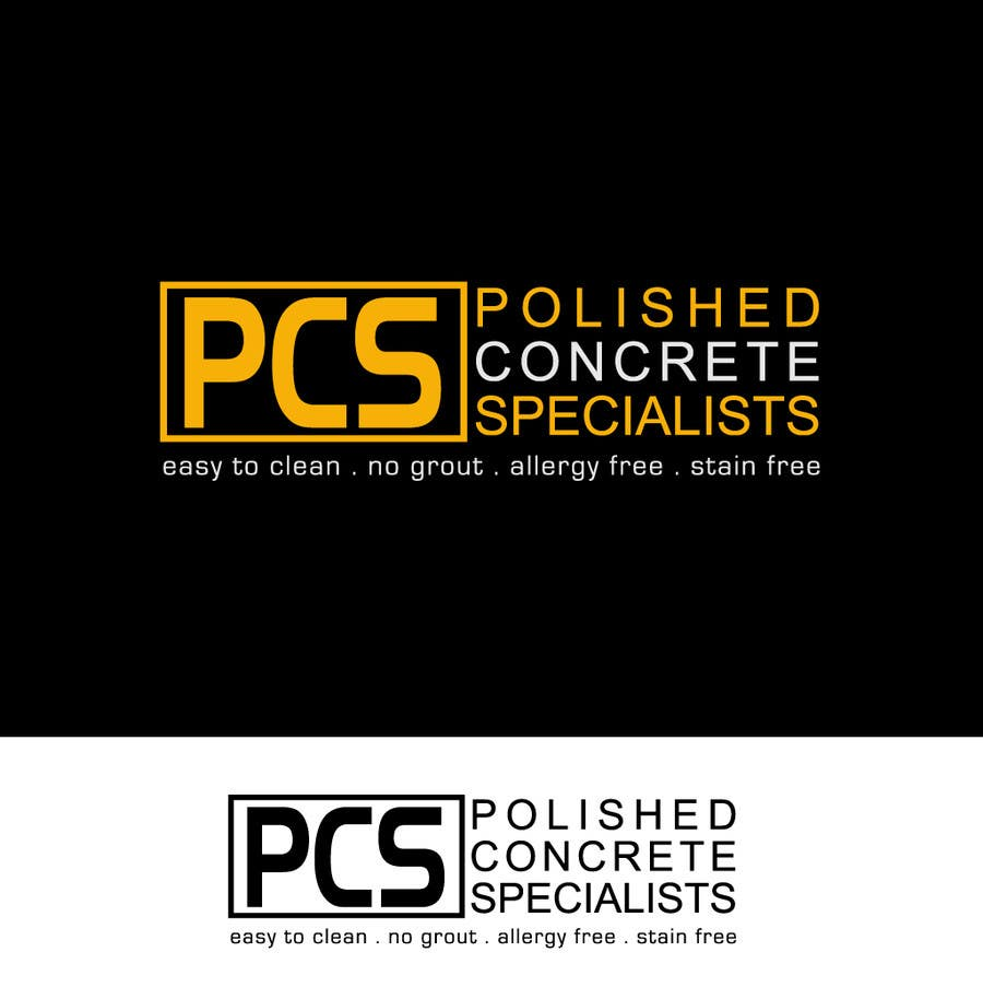 Bài tham dự cuộc thi #                                        126                                      cho                                         Logo Design for Polished Concrete Specialists