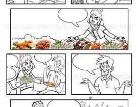 #24 для 1 page comic design от rajgraphicmagic