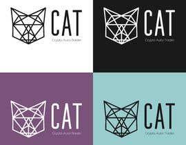 Nro 63 kilpailuun Design A Geometric Cat Face as part of a logo käyttäjältä gabiota