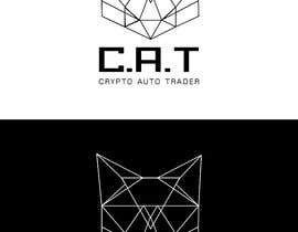 Nro 88 kilpailuun Design A Geometric Cat Face as part of a logo käyttäjältä masud2222